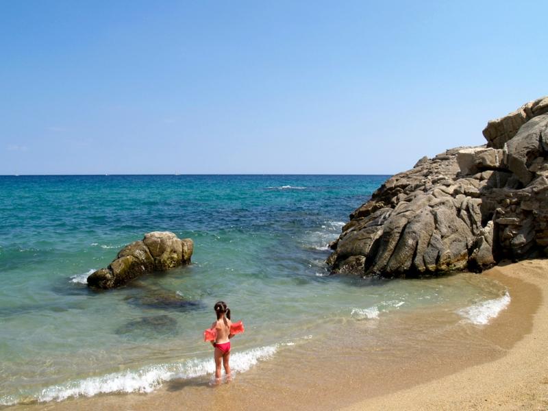 beach, Mediterranean sea