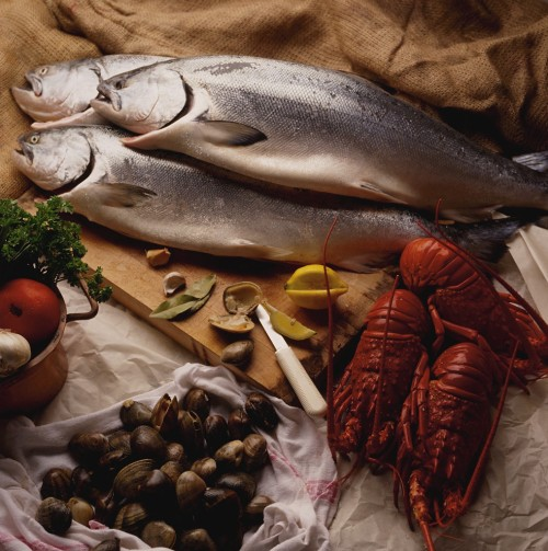 Rich sources of omega-3 fatty acids include salmon, sardines, herring, trout, and mackerel