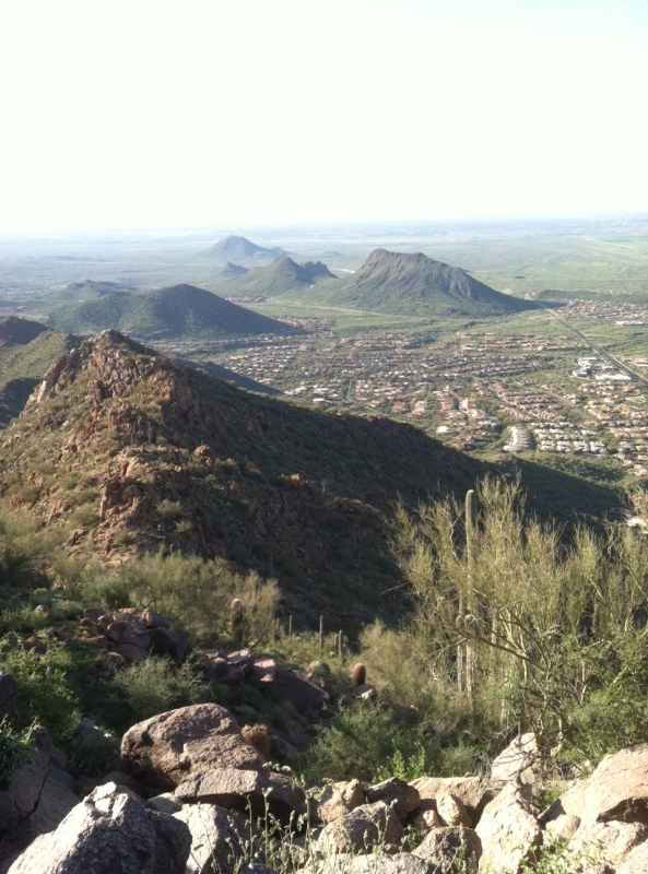 Steve Parker MD, Sunrise Trail, Scottsdale Arizona, hike, hiking