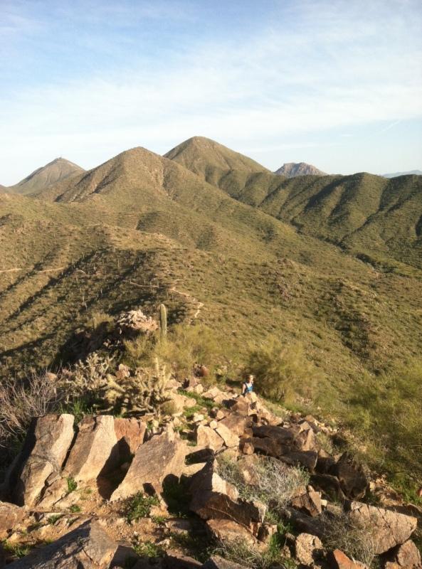 Steve Parker MD, hiking, hike, Sunrise Trail, Scottsdale Arizona