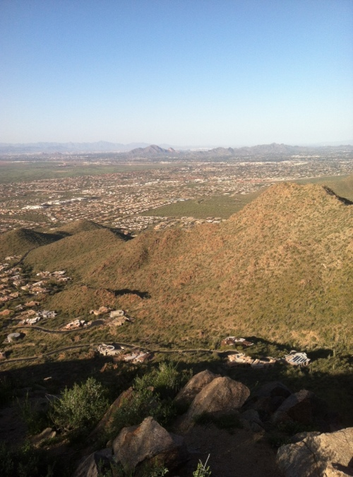 Steve Parker MD, hiking, hike, exercise, Sunrise Trail, Scottsdale Arizona