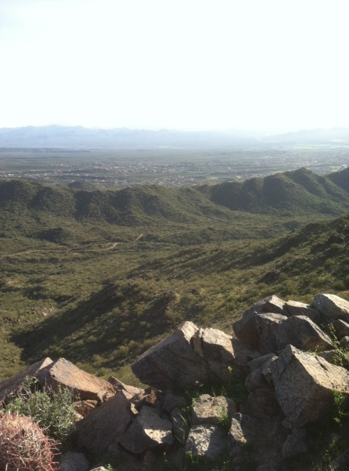Steve Parker MD, Scottsdale Arizona, hiking,Sunrise Trail, Arizona