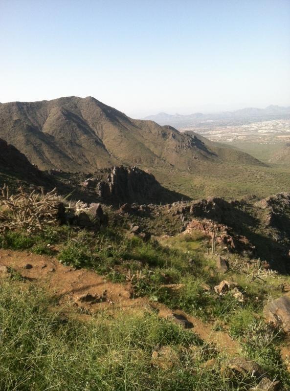 hiking, Arizona, Steve Parker MD,