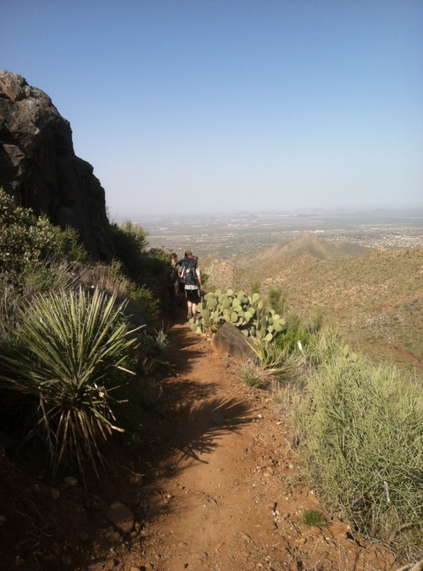 Steve Parker MD, hiking, arizona