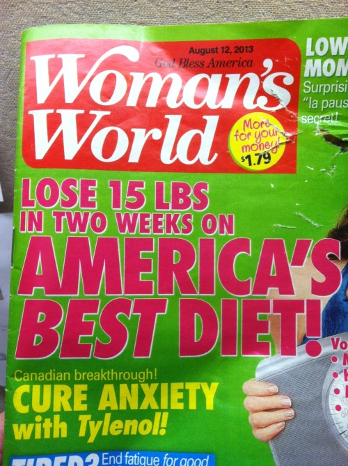 Woman's World cover