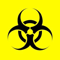 Universal biohazard symbol