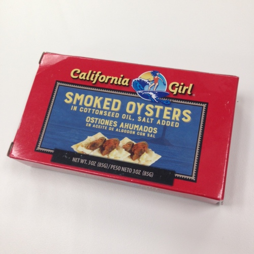 "Even these ""California Girls""  oysters are from China"