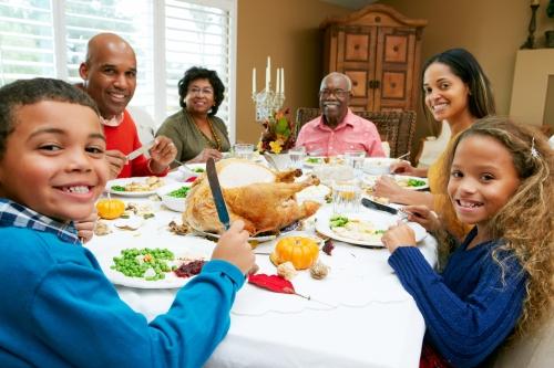 thanksgiving, turkey, family